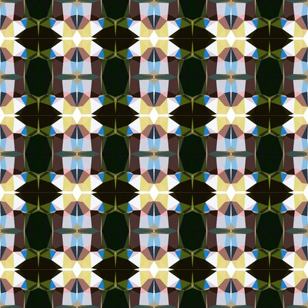 seamless repeating pattern light with pastel gray, very dark green and sky blue colors.