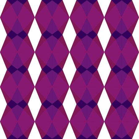 decorative seamless pattern with purple, very dark violet and white smoke colors.