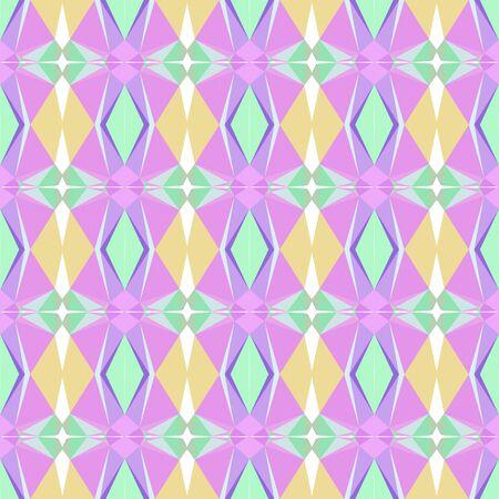 elegant seamless pattern with tea green, plum and medium purple colors. Imagens