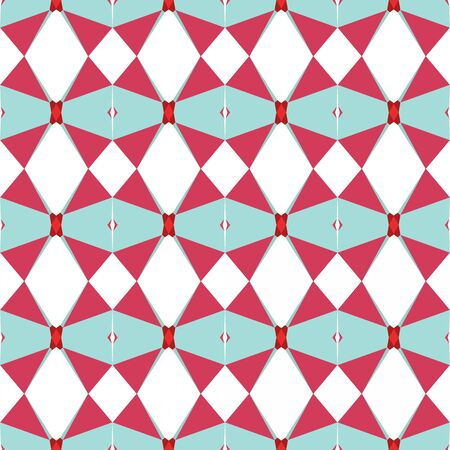 seamless repeatable pattern light with light blue, moderate red and white smoke colors. Imagens