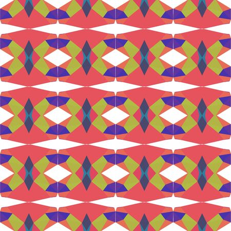 seamless repeatable pattern texture with indian red, dark slate blue and dark khaki colors. Stock Photo