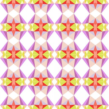 seamless repeating pattern simple with pastel pink, pale violet red and pastel orange colors.