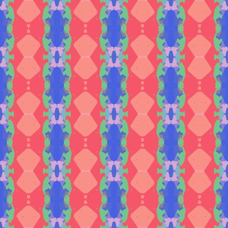 abstract seamless pattern with salmon, slate blue and pastel red colors. endless texture for wallpaper, creative or fashion design.
