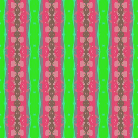 colorful seamless pattern with pale violet red, gray gray and lime green colors. endless texture for wallpaper, creative or fashion design.