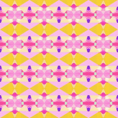 seamless pattern old retro style with pink, pastel orange and neon fuchsia colors. repeating background illustration can be used for wallpaper, wrapping paper or textile fashion design.