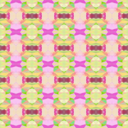 abstract seamless pattern with baby pink, wheat and mulberry  colors. repeating background illustration can be used for wallpaper, creative backgrounds or textile fashion design.
