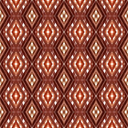 repeatable pattern with brown, antique white and saddle brown colors. seamless graphic can be used for wallpaper, fabric, pattern fills and surface textures.