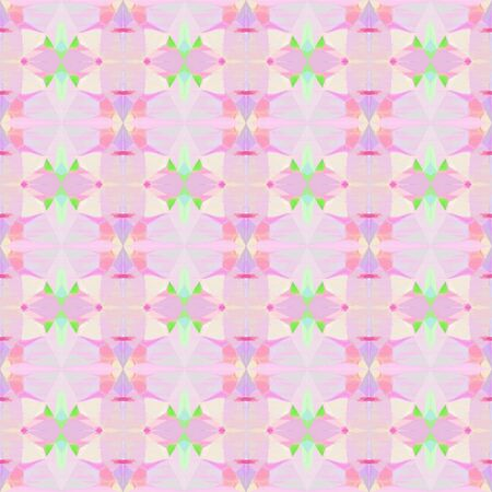 bright seamless pattern with pastel pink, pastel green and pastel magenta colors. repeating background illustration can be used for wallpaper, cards or textile fashion design.