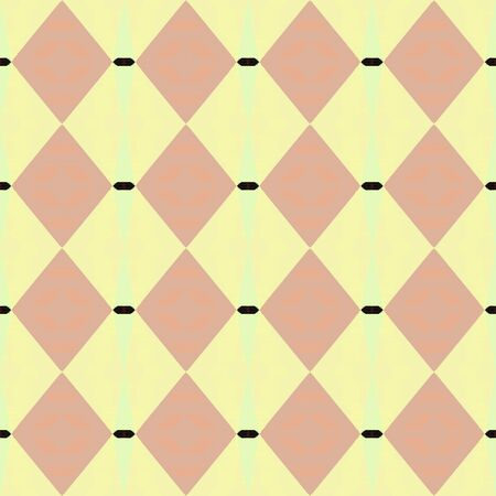 seamless pattern old retro style with pale golden rod, tan and very dark pink colors. repeating background illustration can be used for wallpaper, wrapping paper or textile fashion design. Stock Photo