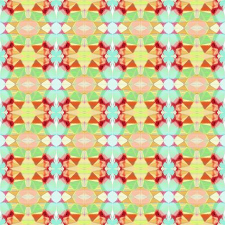 seamless vintage pattern with burly wood, khaki and moderate red colors. repeating background illustration can be used for wallpaper, creative backgrounds or textile fashion design.