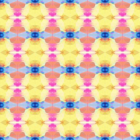 colorful seamless pattern with khaki, steel blue and light coral colors. repeating background illustration can be used for fashion textile design, web page background or surface textures.