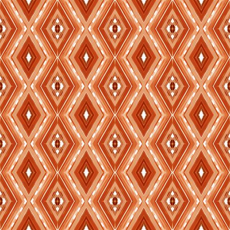 seamless repeating pattern with peru, coffee and linen colors. can be used for wallpaper, home decor, fashion textile and textures. Banco de Imagens