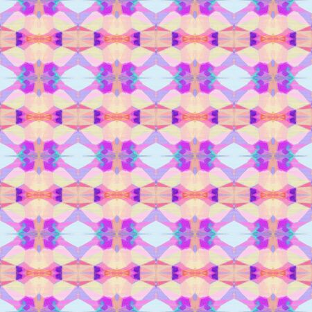 seamless vintage pattern with thistle, medium orchid and orchid colors. repeating background illustration can be used for wallpaper, wrapping paper or textile fashion design.