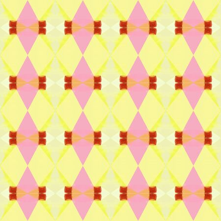 abstract seamless pattern with pale golden rod and pastel yellow colors. repeating background illustration can be used for wallpaper, creative backgrounds or textile fashion design.