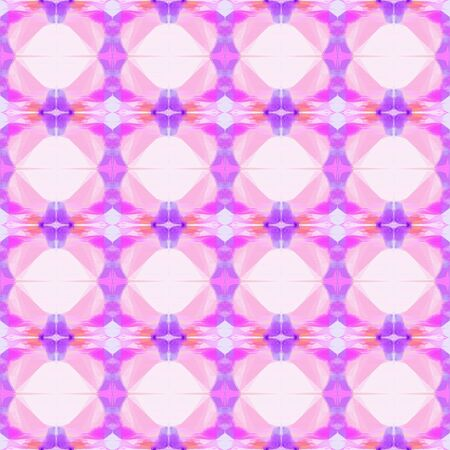 bright seamless pattern with pastel pink, medium orchid and violet colors. repeating background illustration can be used for fashion textile design, web page background or surface textures.