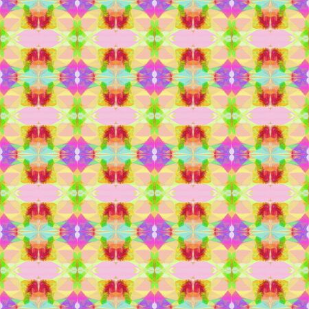 seamless retro pattern with burly wood, moderate pink and khaki colors. repeating background illustration can be used for fashion textile design, web page background or surface textures.