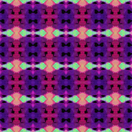 colorful seamless pattern with purple, indigo and pale violet red colors. repeating background illustration can be used for fashion textile design, web page background or surface textures.
