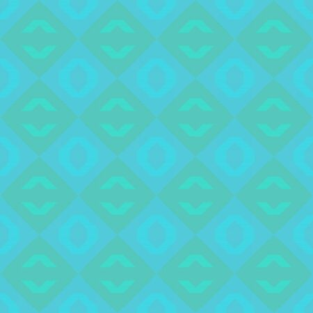 bright seamless pattern with medium turquoise and turquoise colors. repeating background illustration can be used for wallpaper, creative or textile fashion design.