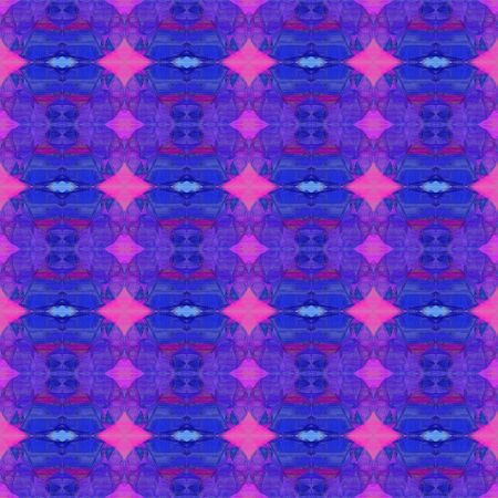 seamless pattern old retro style with dark slate blue, slate blue and medium orchid colors. repeating background illustration can be used for wallpaper, creative or textile fashion design.