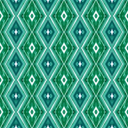 repeatable pattern with sea green, lavender and teal green colors. seamless graphic can be used for card designs, poster, wallpaper and texture. Stock Photo
