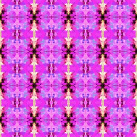 colorful seamless pattern with medium orchid, orchid and very dark pink colors. repeating background illustration can be used for wallpaper, creative or textile fashion design.