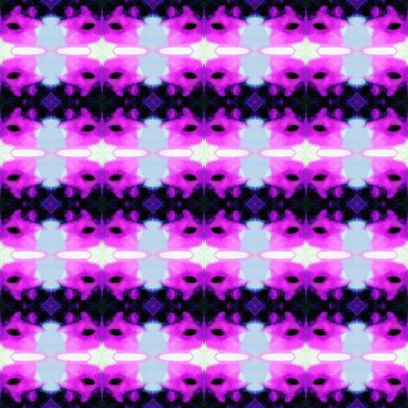 seamless geometric pattern with very dark blue, lavender blue and medium orchid colors. repeating background illustration can be used for wallpaper, creative or textile fashion design. Stock Photo