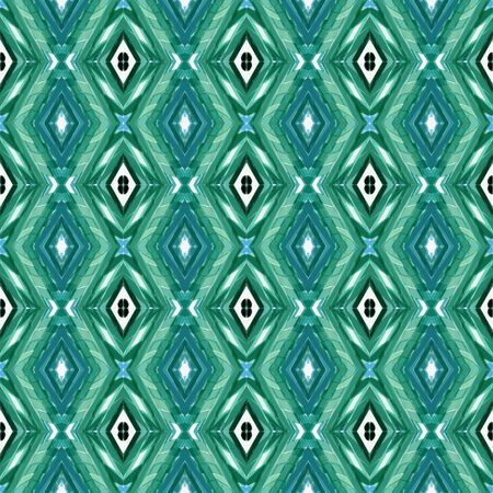 repeatable pattern with blue chill, sea green and lavender colors. seamless graphic can be used for creative projects, background elements, wallpaper or textures.