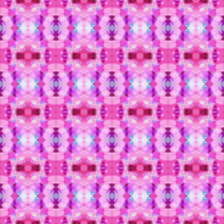 colorful seamless pattern with violet, plum and medium violet red colors. repeating background illustration can be used for wallpaper, cards or textile fashion design.