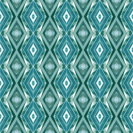 seamless repeating pattern with teal blue, lavender and medium aqua marine colors. can be used for wallpaper, fabric, pattern fills and surface textures. Stock Photo