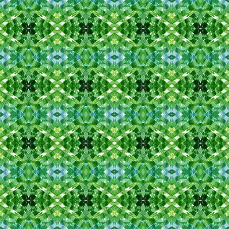 repeatable pattern with sea green, forest green and beige colors. seamless graphic can be used for card designs, background graphic element, wallpaper and texture. Stock Photo
