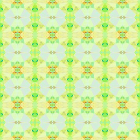 seamless geometric pattern with khaki, pale golden rod and tea green colors. repeating background illustration can be used for wallpaper, cards or textile fashion design.