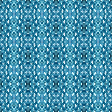 seamless pattern with steel blue, teal blue and lavender colors. can be used for card designs, poster, wallpaper and texture. Stock Photo