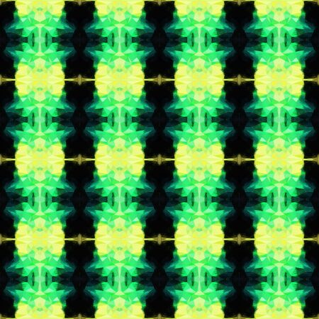 seamless pattern old retro style with very dark green, khaki and medium sea green colors. repeating background illustration can be used for wallpaper, cards or textile fashion design.