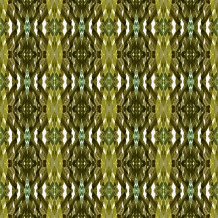 seamless pattern with dark olive green, linen and pastel brown colors. can be used for packaging paper, fabric, wallpaper and textures.