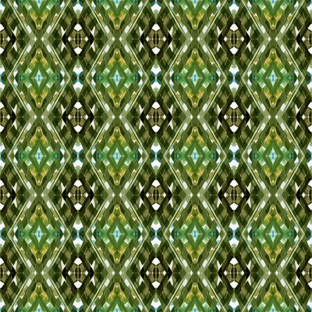 seamless repeating pattern with dark olive green, light gray and pastel brown colors. can be used for packaging paper, fabric, wallpaper and textures.