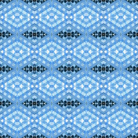 repeatable pattern with corn flower blue, lavender and very dark blue colors. seamless graphic can be used for packaging paper, fabric, wallpaper and textures.