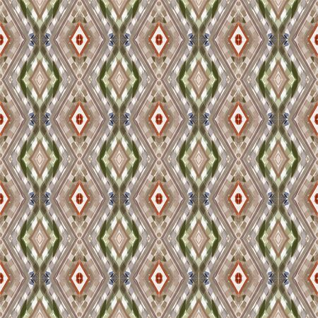 seamless pattern with rosy brown, dark olive green and linen colors. can be used for wallpaper, fabric, pattern fills and surface textures.