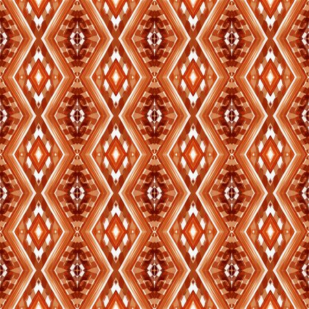 seamless repeating pattern with firebrick, linen and peru colors. can be used for packaging paper, fabric, wallpaper and textures.