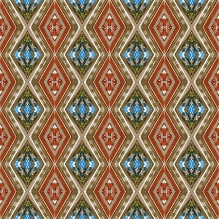 repeatable pattern with pastel brown, brown and light gray colors. seamless graphic can be used for packaging paper, fabric, wallpaper and textures.
