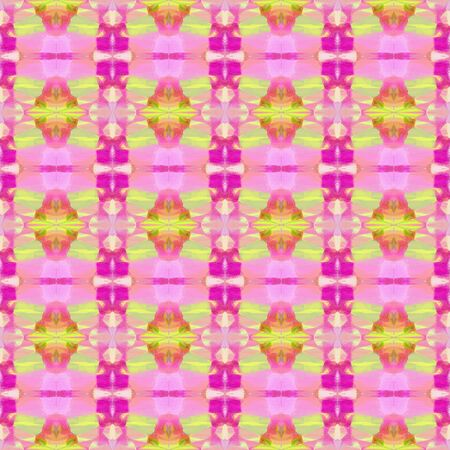 seamless vintage pattern with pastel magenta, deep pink and khaki colors. repeating background illustration can be used for wallpaper, creative or textile fashion design.