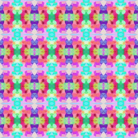 colorful seamless pattern with silver, medium turquoise and thistle colors. repeating background illustration can be used for wallpaper, creative or textile fashion design.