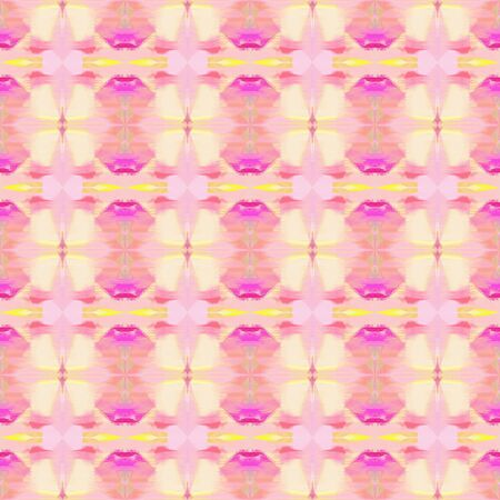 seamless retro pattern with baby pink, neon fuchsia and hot pink colors. repeating background illustration can be used for wallpaper, creative backgrounds or textile fashion design.