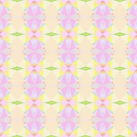 seamless pattern old retro style with misty rose, khaki and pale golden rod colors. repeating background illustration can be used for wallpaper, cards or textile fashion design.