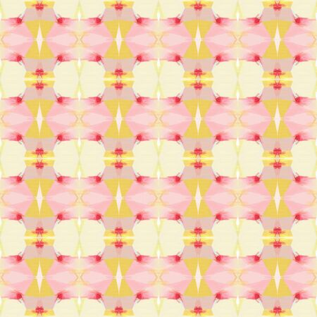 seamless pattern old retro style with bisque, pastel orange and indian red colors. repeating background illustration can be used for wallpaper, wrapping paper or textile fashion design. Stock fotó