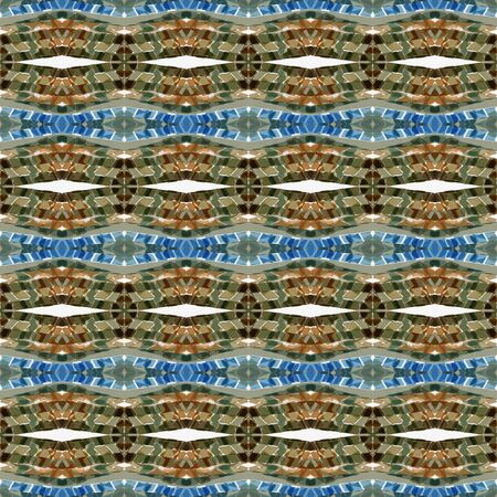 repeatable pattern with pastel brown, antique white and cadet blue colors. seamless graphic can be used for packaging paper, fabric, wallpaper and textures.