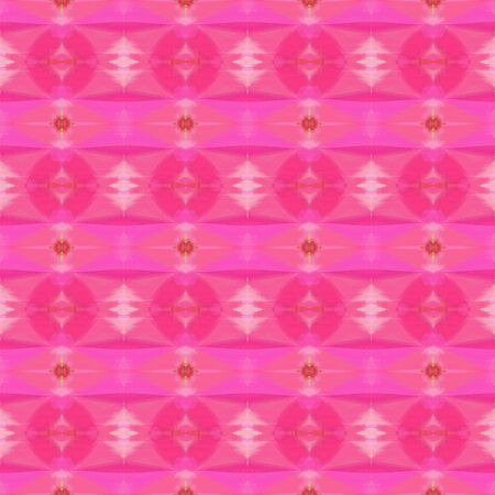 colorful seamless pattern with hot pink, pastel magenta and moderate red colors. repeating background illustration can be used for wallpaper, wrapping paper or textile fashion design.