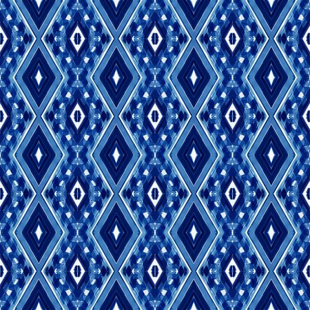seamless pattern with midnight blue, lavender and steel blue colors. can be used for packaging paper, fabric, wallpaper and textures. Фото со стока