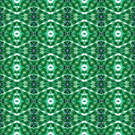 seamless repeating pattern with sea green, beige and forest green colors. can be used for packaging paper, fabric, wallpaper and textures.