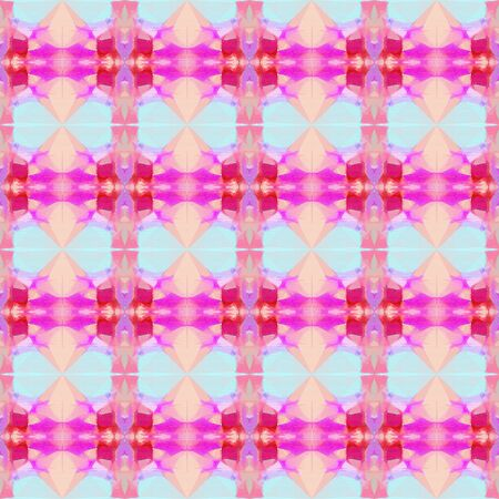 abstract seamless pattern with thistle, deep pink and light gray colors. repeating background illustration can be used for wallpaper, cards or textile fashion design.
