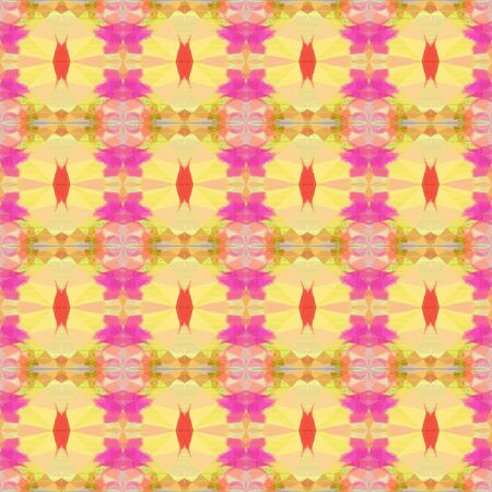 seamless pattern old retro style with khaki, pale violet red and light coral colors. repeating background illustration can be used for wallpaper, creative or textile fashion design.